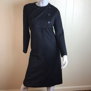 Vintage 50's/60's Style Henry Lee Black Dress